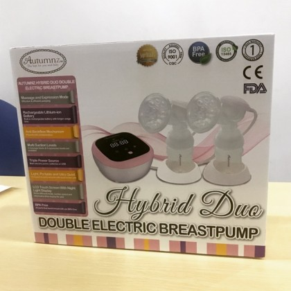 AUTUMNZ HYBRID DUO DOUBLE ELECTRIC BREASTPUMP