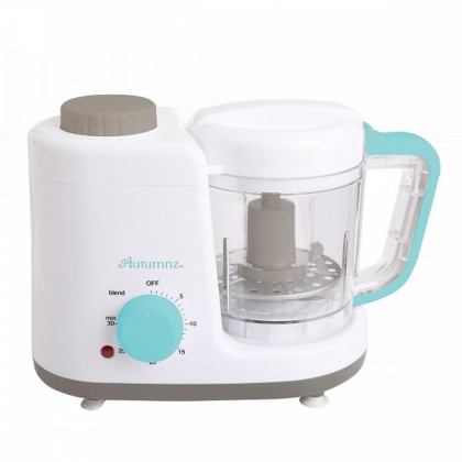 Autumnz - 2 IN 1 BABY FOOD PROCESSOR - STEAM & BLEND *TURQUOISE*