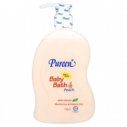 BABY BATH w/PEACH 750 ml