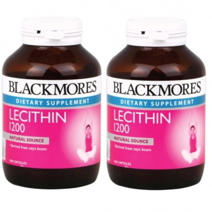 Blackmores Lecithin 1200 Twin Pack - 100sx2