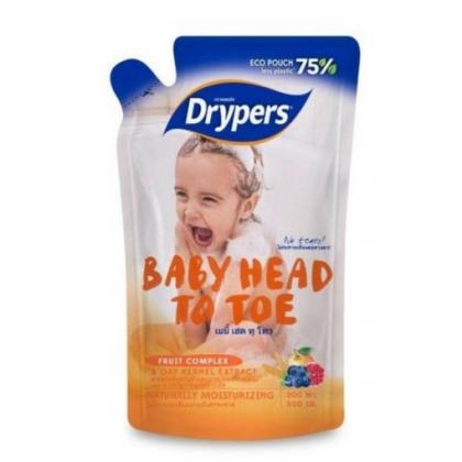 DRYPERS BABY HEAD TO TOE 500ML