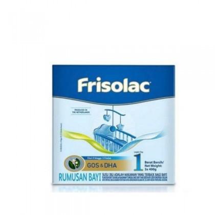 FRISOLAC STEP 1 (3X400G) 1.2KG BIB