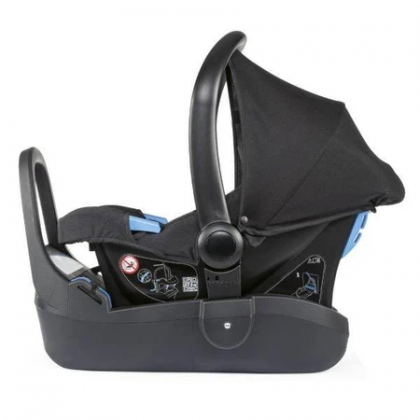 Combo Chicco Goody Plus Stroller + Kaily Baby Car Seat (Black)