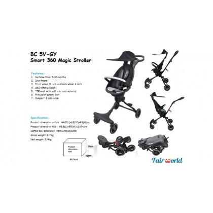 FAIRWORLD Smart 360 Magic Stroller