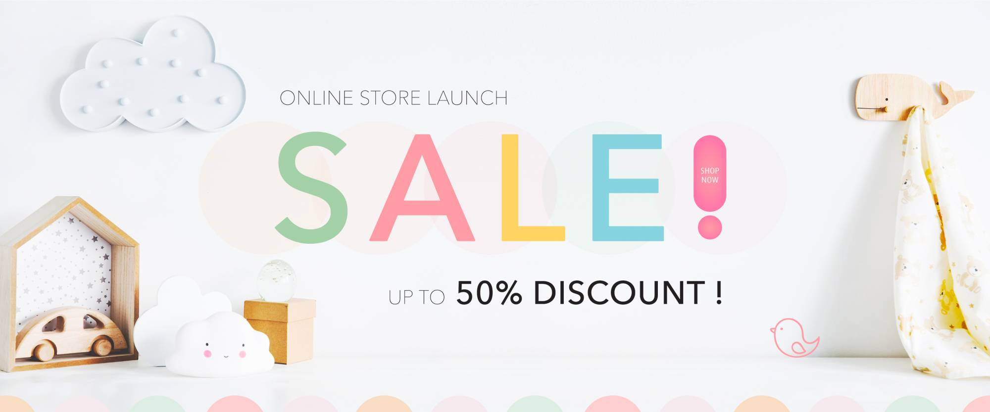 Store Launch 50%